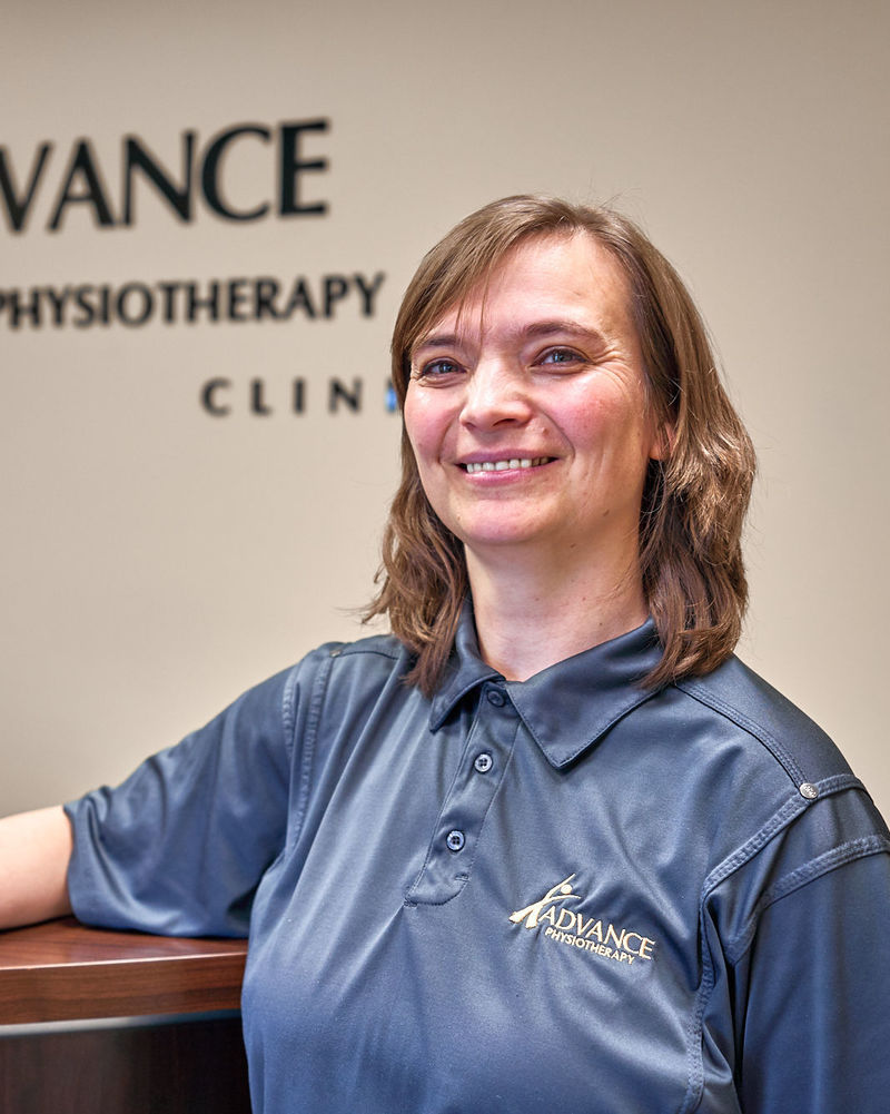 A headshot of one of the staff at Advance Physio