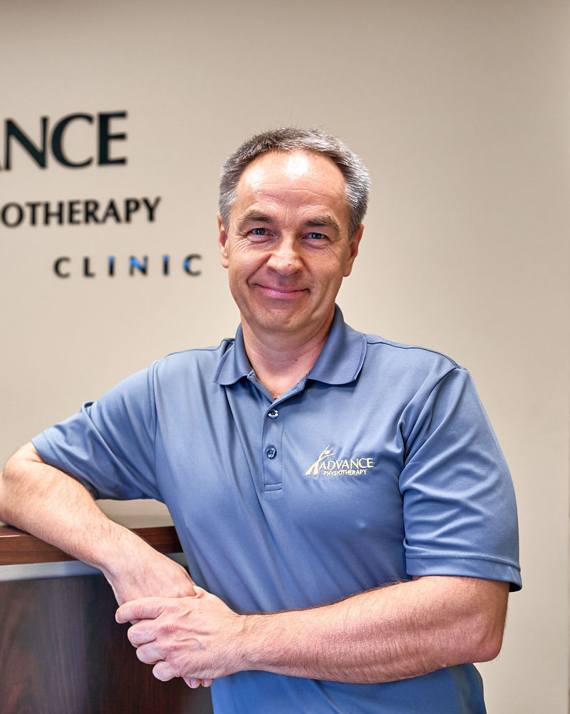 A headshot of one of the staff of Advance Physio